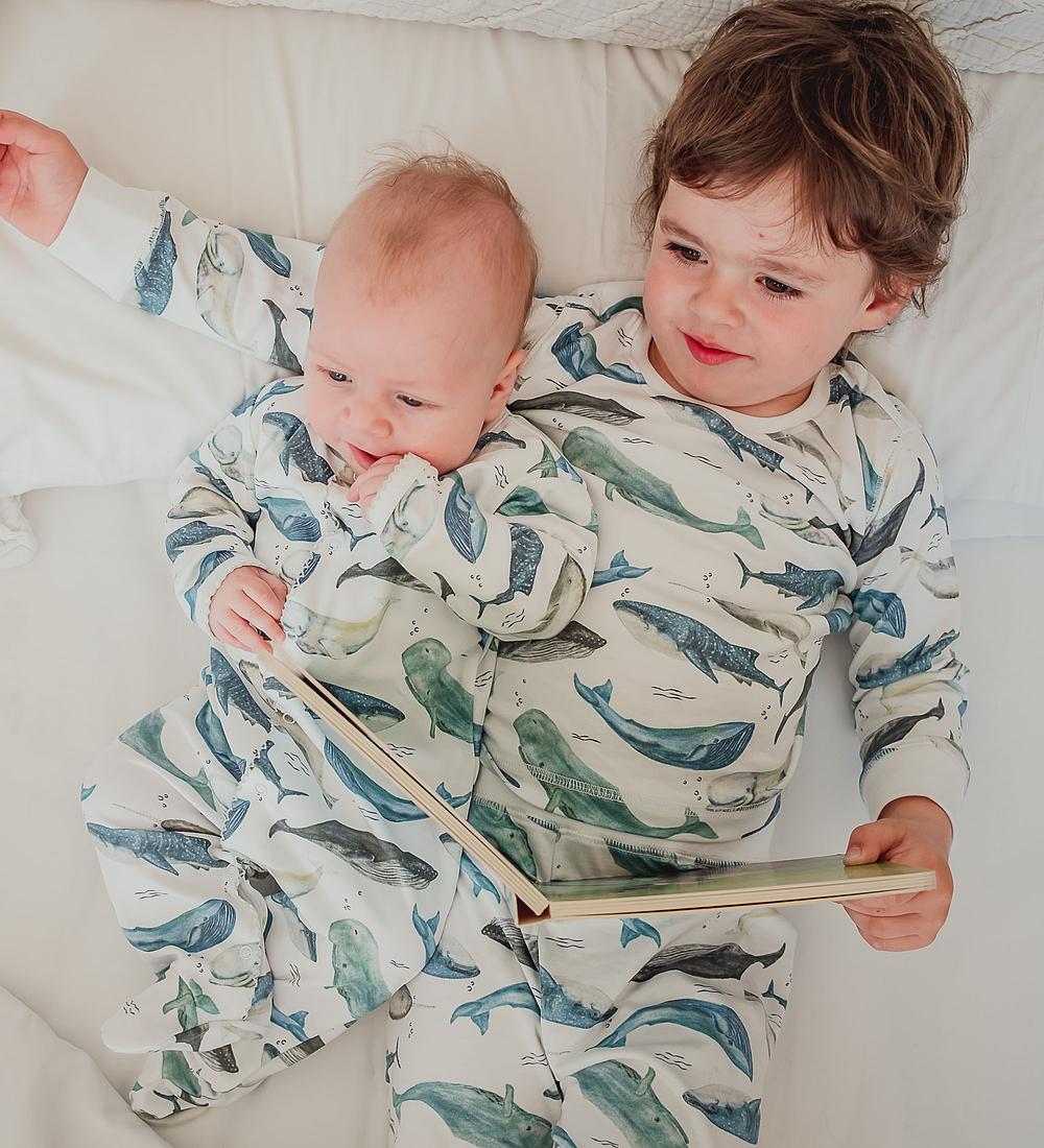 Pijama Baby Deep Whales