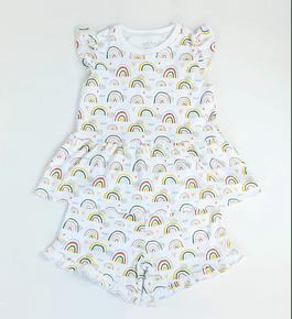 Pijama 2 piezas Corto Rainbows