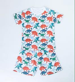 Pijama 2 piezas Corto Dinosaurs