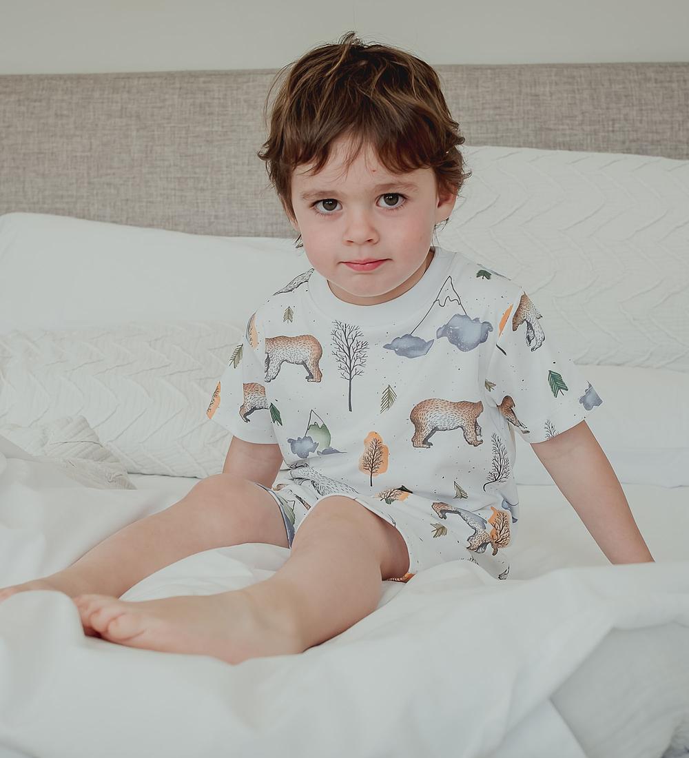 Pijama 2 piezas Corto Mountains