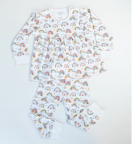 Pijama 2 piezas Largo Rainbows