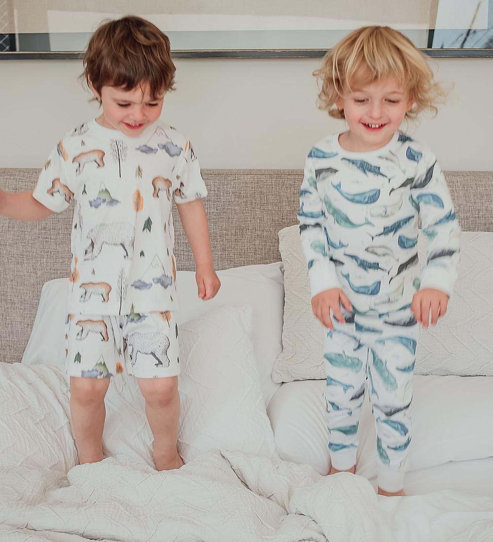 Pijama 2 piezas Largo Deep Whales