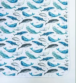 Tuto Algodón Deep Whales