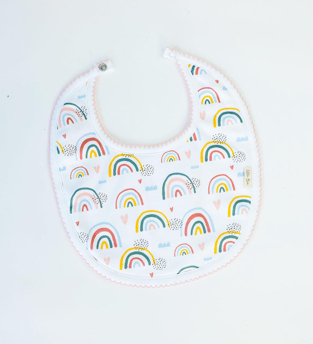 Babero Rainbows