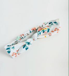 Cintillo Lazo Pastel Flowers