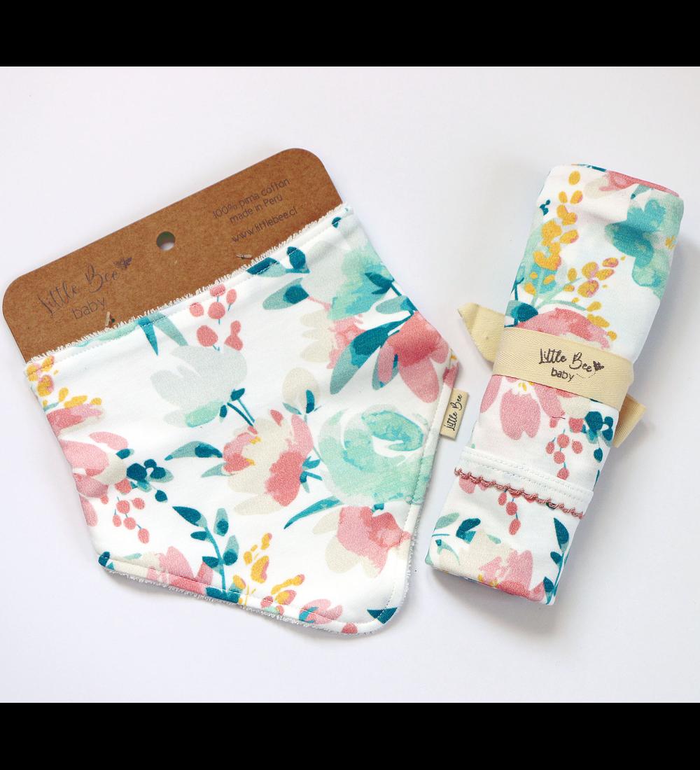 LITTLE BEE BOX Tuto + Bandana Pastel Flowers