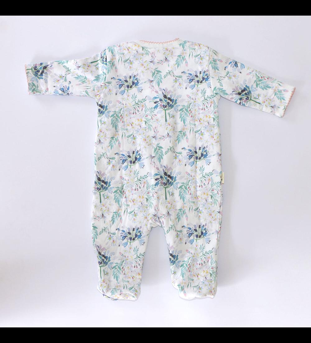 Pijama Vuelitos Invierno Blue Flowers