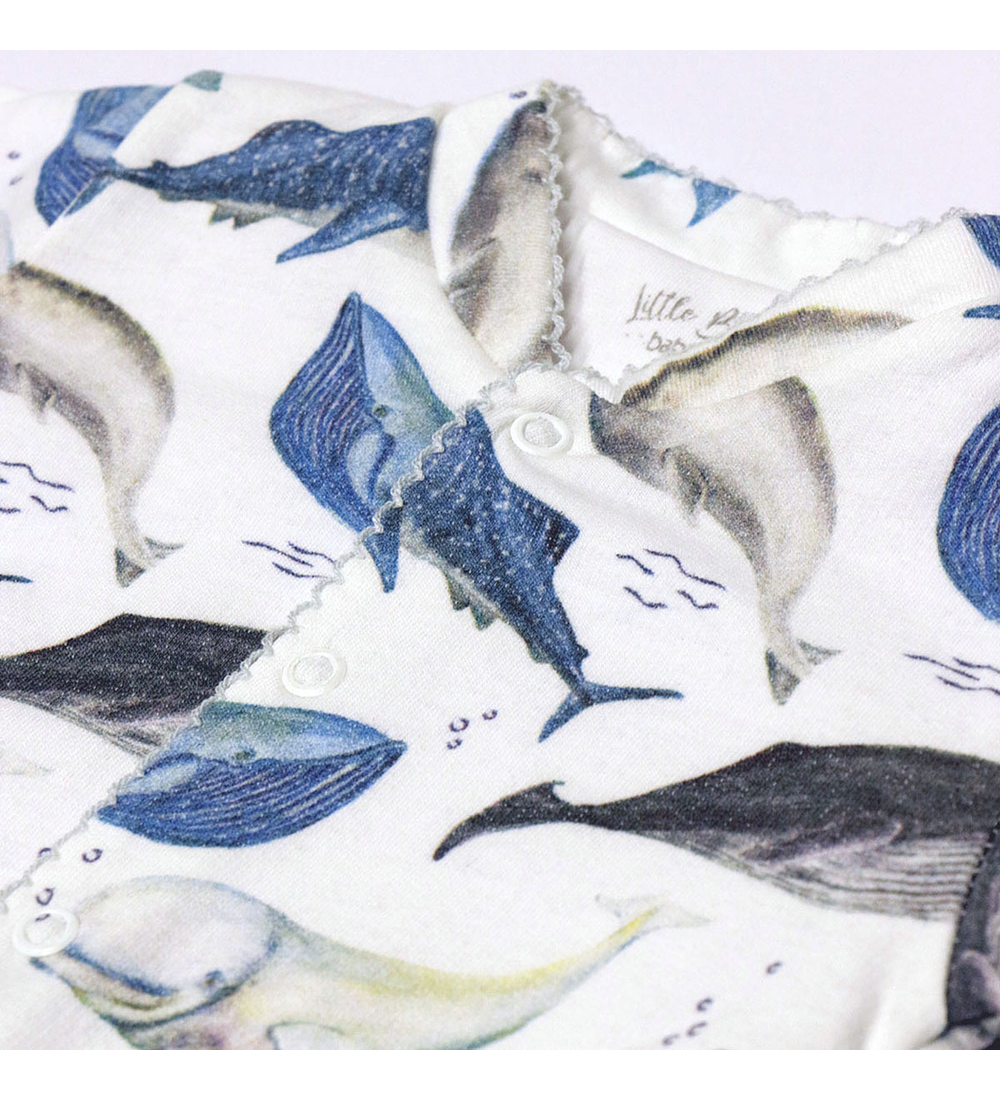 Pijama Baby Invierno Deep Whales