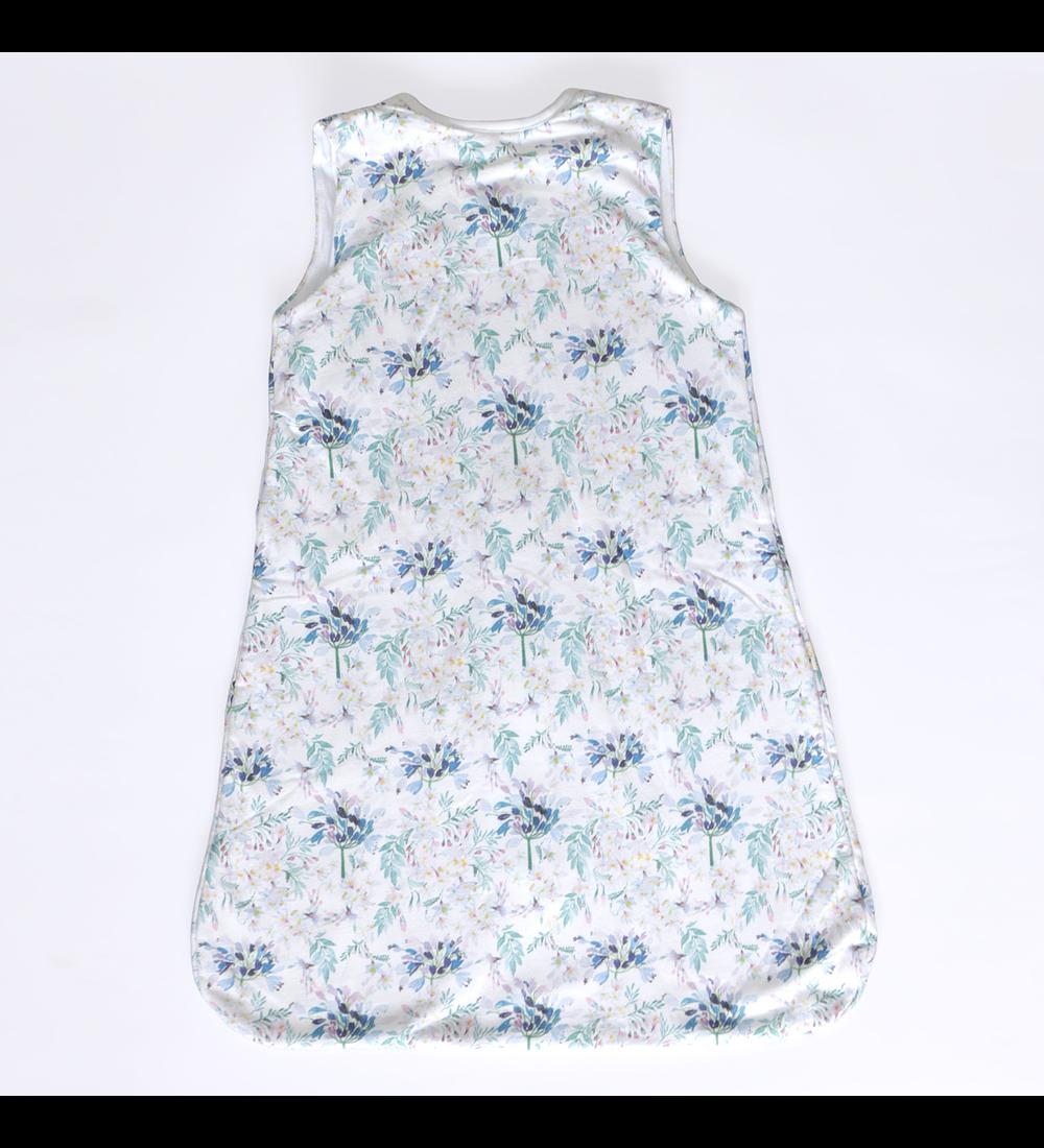 Saquito Forrado Baby Blue Flowers