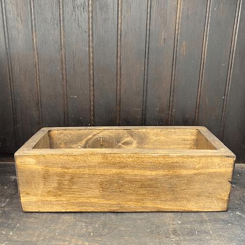 Jardinera madera 30 cm de largo