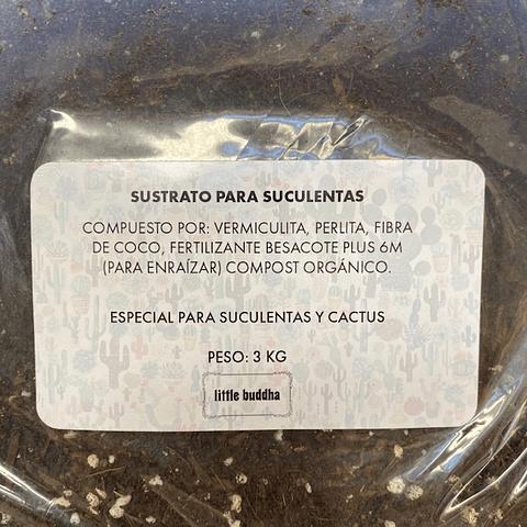 Sustrato especial para suculentas 3 kg