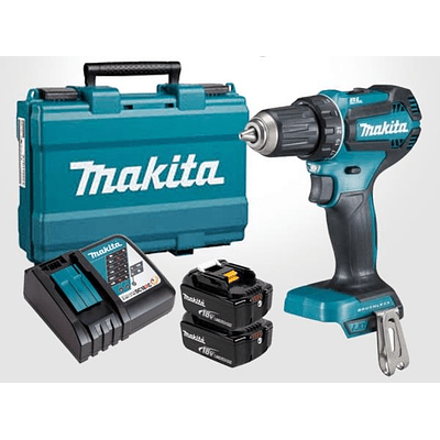 Taladro atornillador inalámbrico 18V Makita DDF485RFE