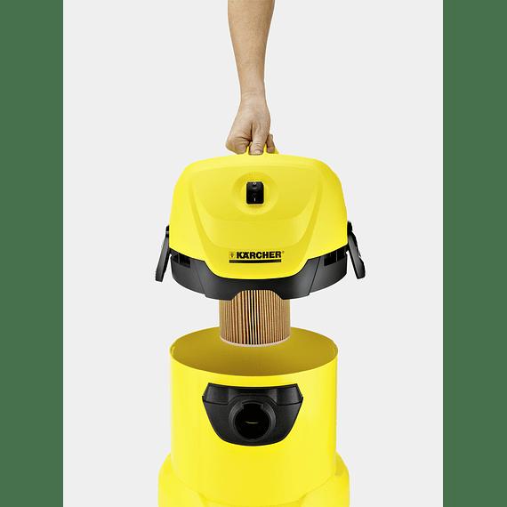 Aspiradora Polvo y Agua Kärcher WD3 - Image 2