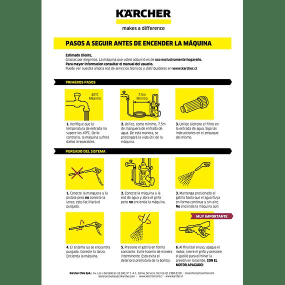 Hidrolavadora Kärcher K3 Comfort- Image 7
