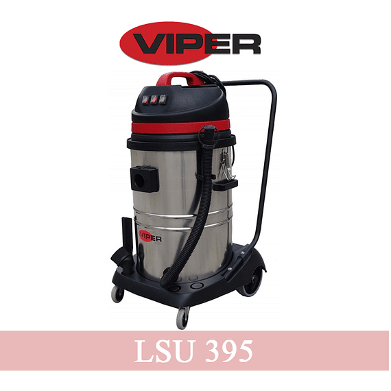 Aspiradora Polvo y Agua Viper LSU 395 (3 motores)- Image 1