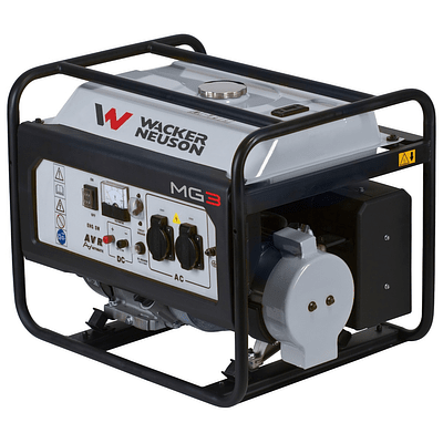 Generador Wacker Neuson Mod. MG3 (3 KVA)
