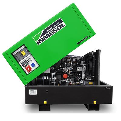 Generador Industrial Basculante Trifásico 11 Kva Diésel