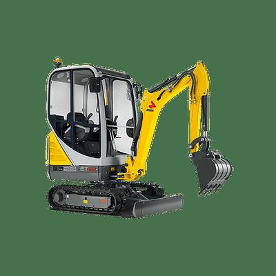 Mini Excavadoras Sobre Orugas Modelo: ET16