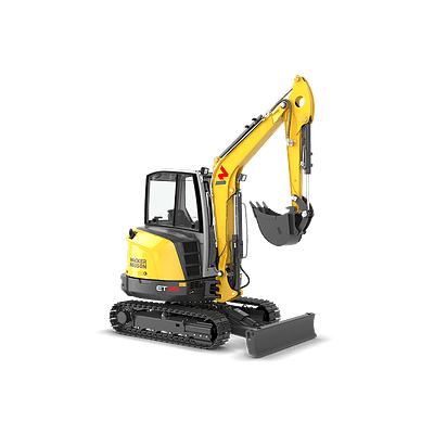 Mini Excavadora Sobre Orugas Modelo: ET35
