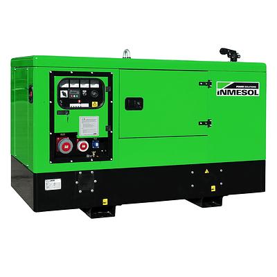 Generador Industrial Trifásico Insonorizado 22 Kva Diesel