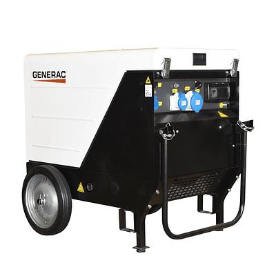 Generador Insonoro GMP6000P1 6 KVA con ruedas