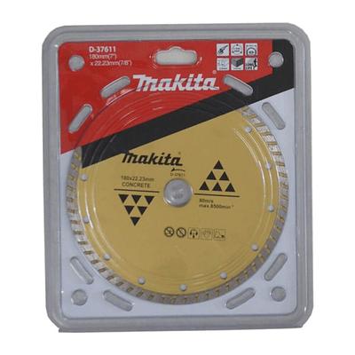 Disco Diamantado 180mm*22.23mm Onda / Seco / Concreto Makita