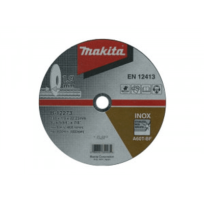 Disco Abrasivo Corte Acero Inoxidable 9