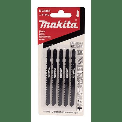 Hoja De Calar / Corte Curvo Rápido Tpi:6 Hcs 100mm (74mm) Madera Makita