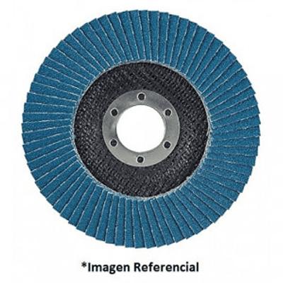 Disco Traslapado Makita 115 x 22 Gr 60 - Zircon - Metal y Acero Inoxidable ángulo