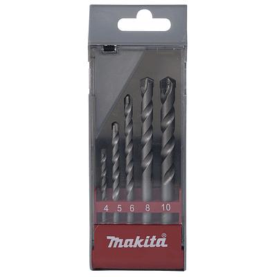 Set brocas 5 Unidades concreto makita (4,5,6,8 y 10mm)