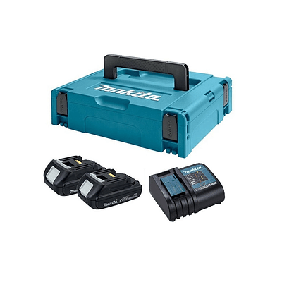 Makpac Tipo 1 Con Baterías Bl1815n x 2un Y Cargador Dc18sd Makita
