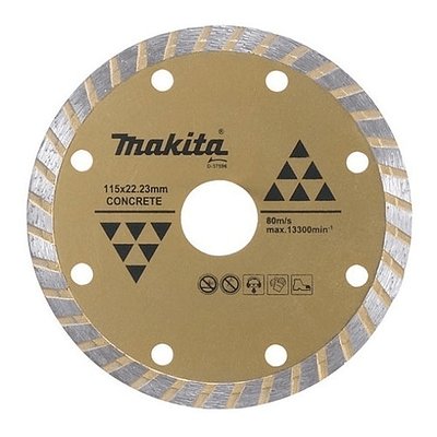 Disco Diamantado 125mm*22.23mm Onda / Seco / Concreto Makita