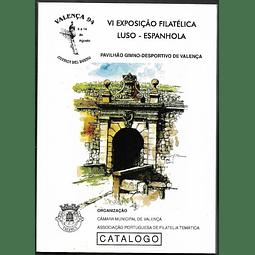 VI Exposição Filatélia LUSO-ESPANHOLA. Catálogo.