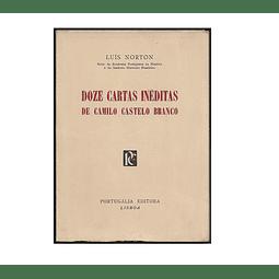 (1964)DOZE CARTAS INÉDITAS DE CAMILO CASTELO BRANCO