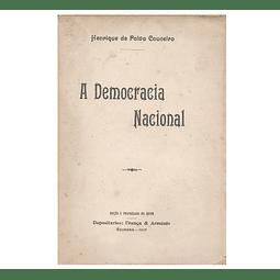 A DEMOCRACIA NACIONAL