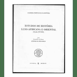 ESTUDOS DE HISTÓRIA LUSO-AFRICANA E ORIENTAL (Séculos XVI-XIX).