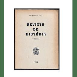 REVISTA DE HISTÓRIA. Vol. I