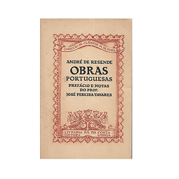 Obras Portuguesas de André de Resende
