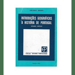 Introduções Geográficas à História de Portugal.