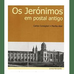 Os Jerónimos em Postal Antigo