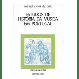 Estudos de História da Música em Portugal