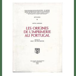 Les origines de l'imprimerie au Portugal.
