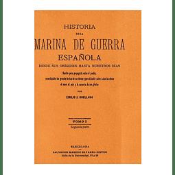 Historia de la Marina de Guerra Española 4 Vols.