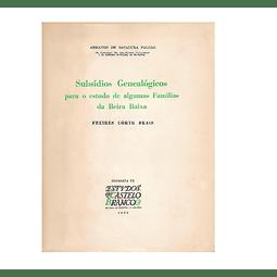 Subsídios Genealógicos para o Estudo de Algumas Famílias da Beira Baixa