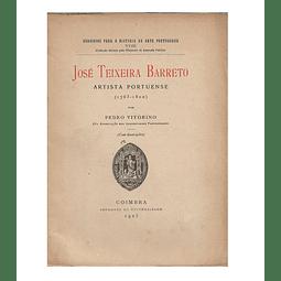 josé Teixeira Barreto. Artista portuense (1763-1810).