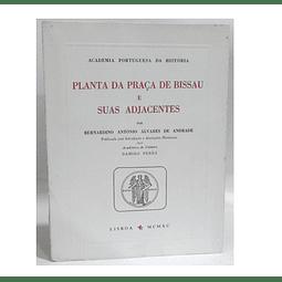 Planta da praça de Bissau e suas adjacentes