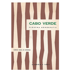CABO VERDE. Pequena Monografia.