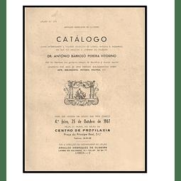 Catálogo duma interessante e valiosa colecção de livros, antigos e  modernos