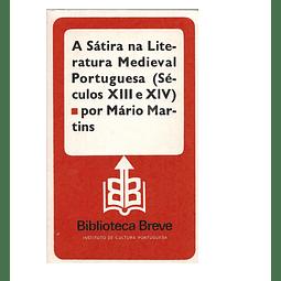 A sátira na literatura medieval portuguesa (séculos XIII e XIV).