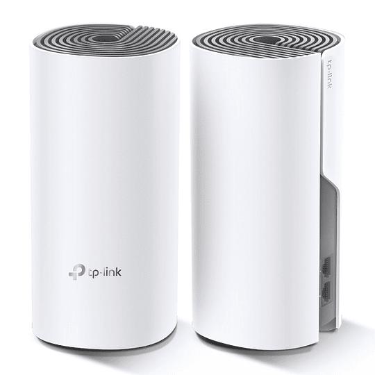 Deco E4(2-pack)   Wi-Fi AC1200